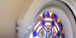 Stained Glass detail at ICOS