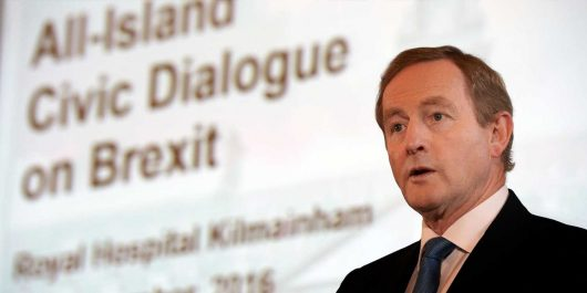 Taoiseach Enda Kenny opening-the All-Island Civic Dialogue