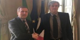 The Minister for Agriculture, Food and the Marine, Michael Creed TD, today met his French counterpart, Minister for Agriculture, Food and Forestry, Stephane Le Foll