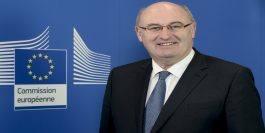 EU Commissioner for Agriculture, Phil Hogan initiated the EU milk reduction scheme